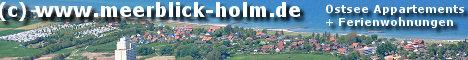 Die modernen Ostsee Appartements Holm und Ferienwohnungen in Schönberg an der Ostsee bieten jede Menge Komfort für einen entspannten Strand-Urlaub mit Meerblick auf Kalifornien und Brasilien am Schönberger Strand. in der schönen Probstei in Schleswig Holstein